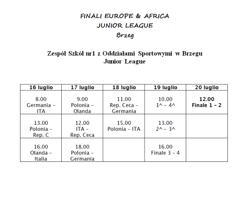calendario_junior_softball_Brzeg